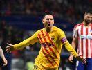اتلتیکو 0 - 1 بارسا ؛ پیروزی با درخشش مسی