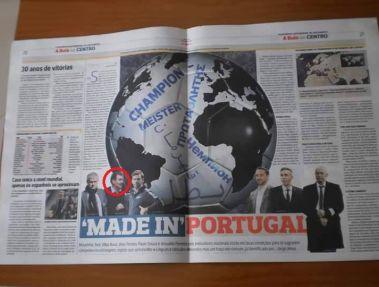 سرمربی تراکتورسازان در کنار مورینیو جزو 6 مربی موفق پرتغال