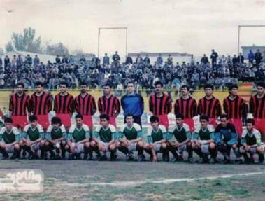 عکس / خداداد عزیزی در کنار بازیکنان افغان