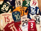 هاشمیان و رونمایی از پیراهن ستارگان فوتبال